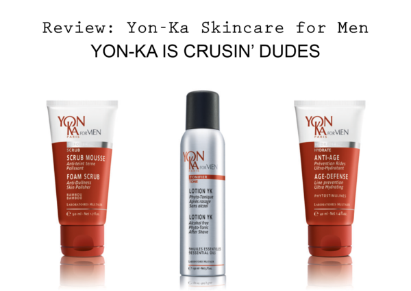 Yon-Ka Skincare for Men x Ugly Fat Magazine